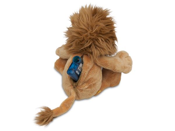 Lenny® der Löwe Plüschtier und Pumpentasche